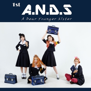 "Album art for A.N.D.S (A Dear Younger Sister)'s album ""A.N.D.S"""