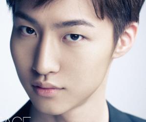 APeace's former member Kim Seung Hwan.