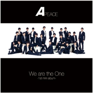 "Album art for APeace's album ""We Are The One"""