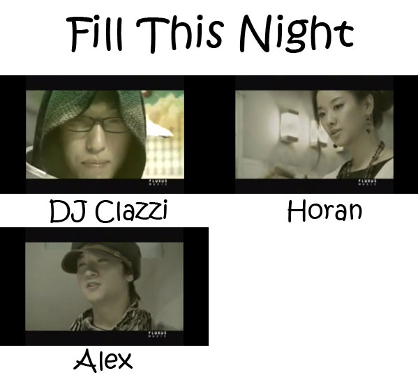 """The members of Clazziquai Project in the """"Fill This Night"""" MV"""