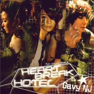 "Album art for Gavy NJ's album ""Heartbreak Hotel"""