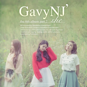 "Album art for Gavy NJ's album ""She"""