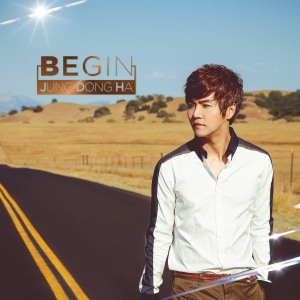 "Album art for Jung Dong Ha's album ""Begin"""