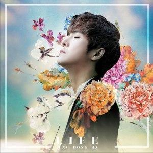 """Album art for Jung Dong Ha's album """"Life"""""""