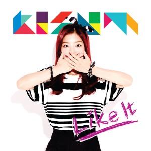 "Album art for Kisum's album ""I Like It"""