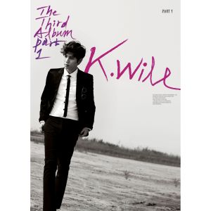 "Album art for K.Will's album ""3rd Album Part 1"""