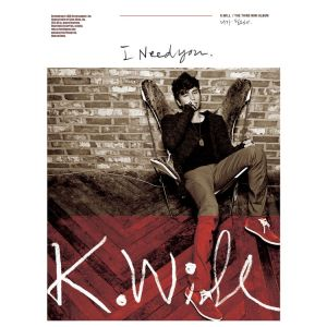 "Album art for K.Will's album ""I Need You"""