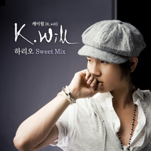 "Album art for K.Will's album ""I Will"""