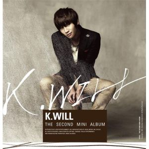 "Album art for K.Will's album ""My Heart Beating"""
