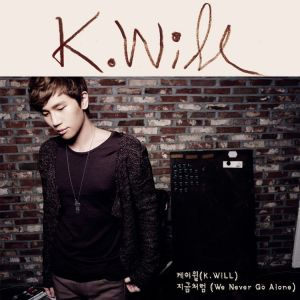"Album art for K.Will's album ""We Never Go Alone"""