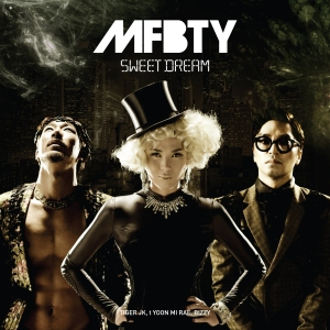 """Album art for MFBTY's album """"Sweet Dream"""""""