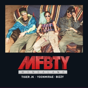 "Album art for MFBTY's album ""WondaLand"" MV"