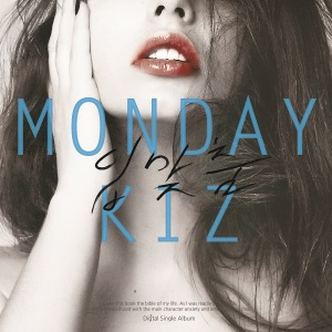 "Album art for Monday Kiz's album ""Kiss"""