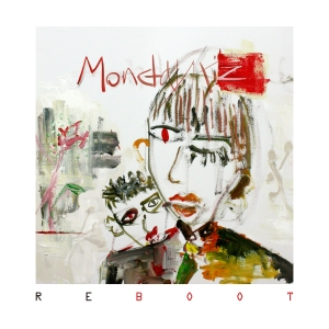"Album art for Monday Kiz's album ""Reboot"""