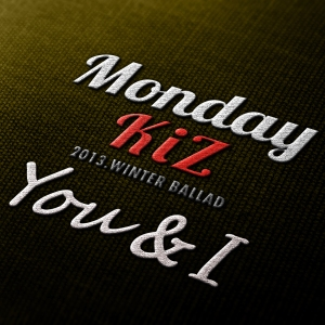 "Album art for Monday Kiz's album ""You & I"""