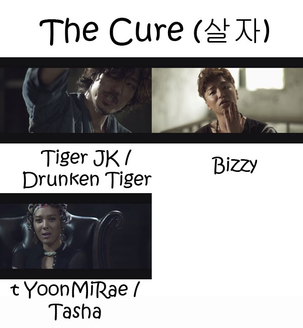 "The members of MFBTY in the ""The Cure"" MV"