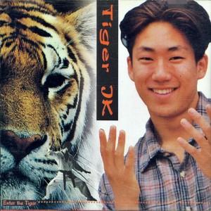 """Album art for Tiger JK/Drunken Tiger's album """"Enter The Tiger"""""""