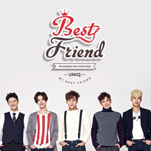 "Album art for UNIQ's album ""Best Friend"""