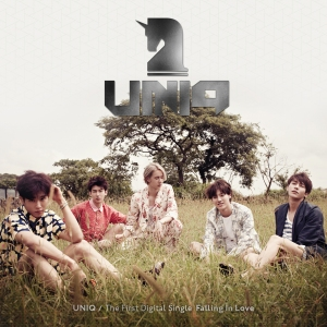 "Album art for UNIQ's album ""Falling In Love"""