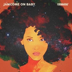 """Album art for Yoon Mi Rae's album """"JAMCOME On Baby"""""""