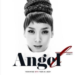 "Album art for Tasha / t Yoon Mirae's album ""Angel"""