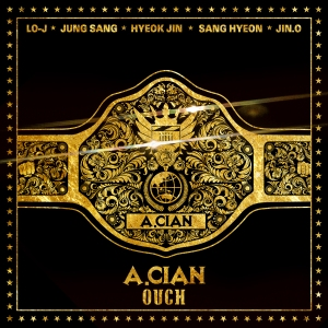 "Album art for A.Cian's album ""OUCH"""