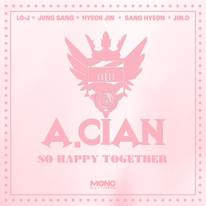 "Album art for A.Cian's album ""So Happy Together"""