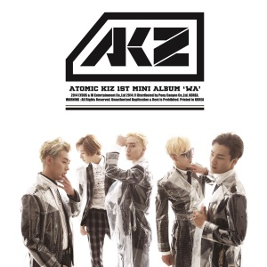 "Album art for Atomic Kiz (AKZ)'s Album ""WA"""