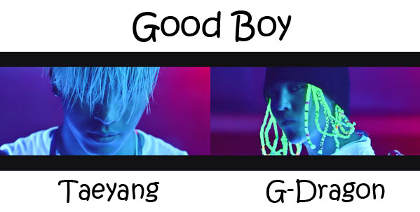 "G-Dragon and Taeyang in the ""Good Boy"" MV"