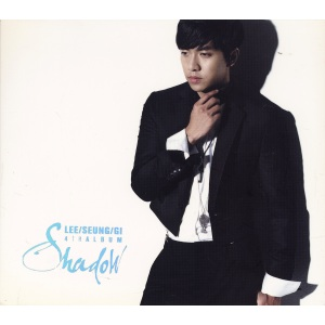 "Album art for Lee Seung Gi's album ""Shadow"""