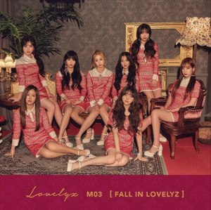 "Album art for Lovelyz's album ""Fall In Lovelyz"""