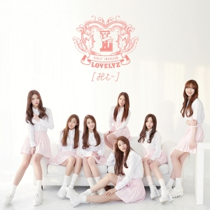 "Album art for Lovelyz's album ""Hi"""