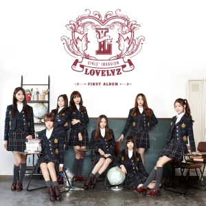"Album art for Lovelyz's album ""Girls' Invasion"""