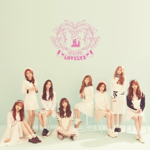"Album art for Lovelyz's album ""Lovelinus"""