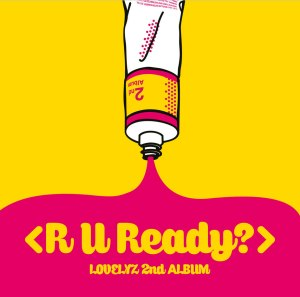 "Album art for Lovelyz's album ""R U Ready?"""