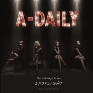 """Album art for A-Daily's album """"Spotlight"""""""
