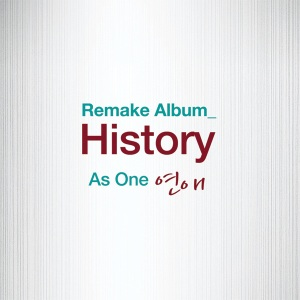 "Album art for As One's album ""History"""