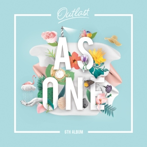 "Album art for As One's album ""Outlast"""