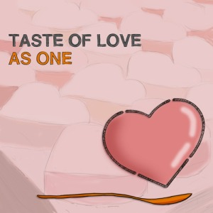 "Album art for As One's album ""Taste Of Love"""