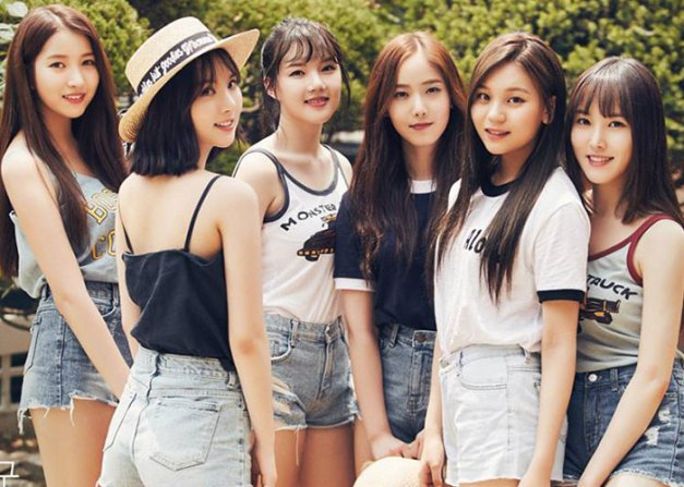 "G.Friend's promotional picture for ""Parallel"""