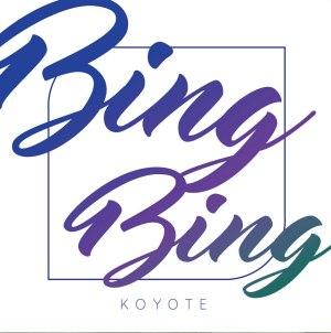 """Album art for Koyote's album """"Bing Bing"""""""