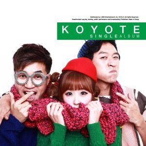 "Album art for Koyote's album ""Give Me A Hug"""
