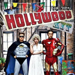 "Album art for Koyote's album ""Hollywood"""