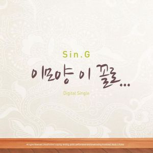 "Album art for Sin.G's album ""A Shape Like This"""