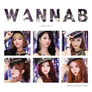 "Album art for Wanna.B's album ""Attention"""