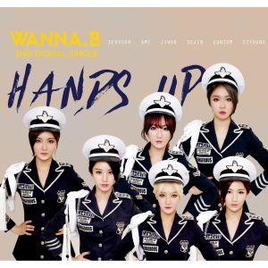 "Album art for Wanna.B's album ""Hands Up"""
