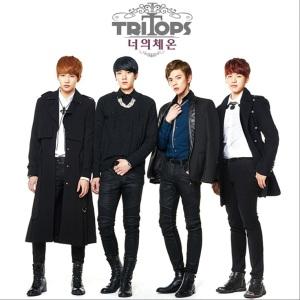 """Album art for Tritops Album """"Your Temperature"""""""