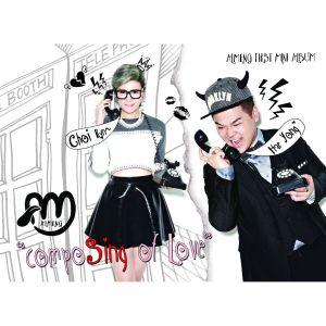 "Album art for Almeng's album ""CompoSing Of Love"""