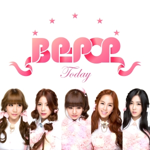 "Album art for B.P.Pop's album ""Today"""