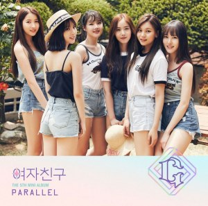 "Album art for G.Friend's album ""Parallel"""
